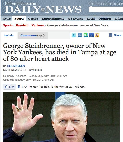 NY Daily News Facebook Like FAIL
